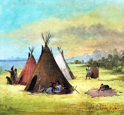 found on native indian tribes