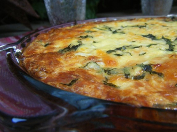 Double tomato and basil quiche... use an almond meal crust instead of ...