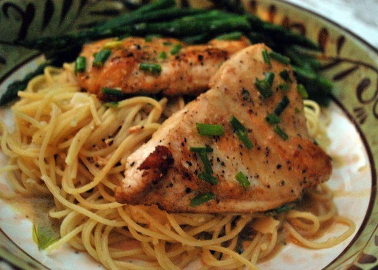 Chicken Scallopine 038 | Tasty Treats! | Pinterest