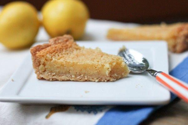 Lazy Girl's Meyer Lemon Tart | Dessert Recipes | Pinterest