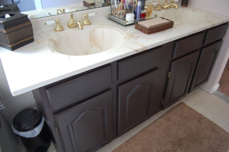 Painting Honey Oak Cabinets Black For The Home Pinterest