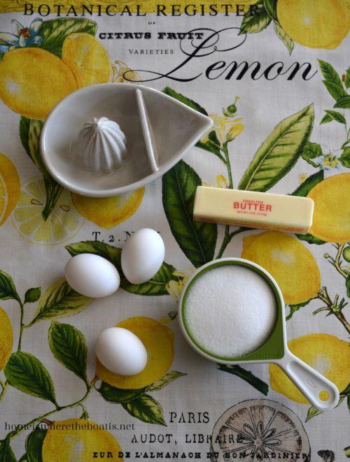 Easy Microwave Lemon Curd