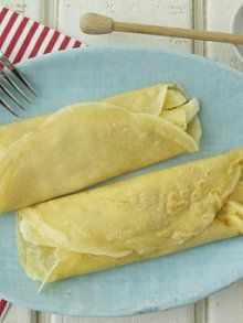 Whole Wheat Crepes Stuffed with Honey Cream Cheese and Bananas | Reci ...