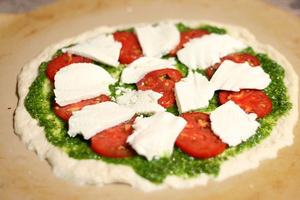 Pesto Pizza | meals to feed a football team | Pinterest