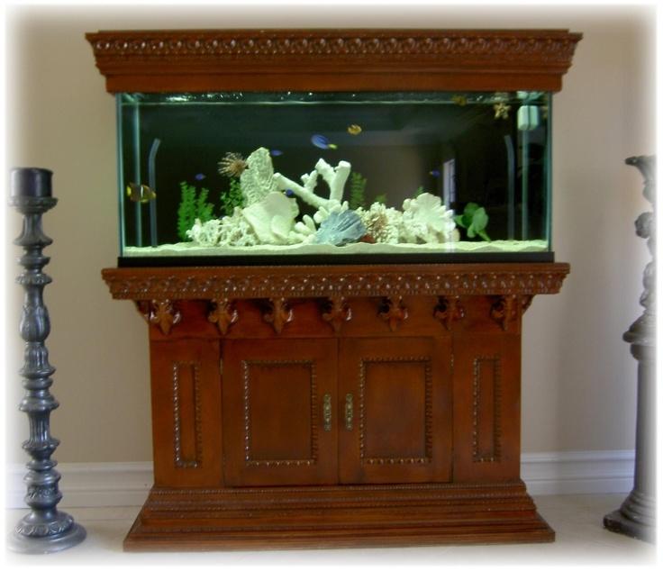 Fish tank stand pinterest pallet projects pinterest for Pallet aquarium stand