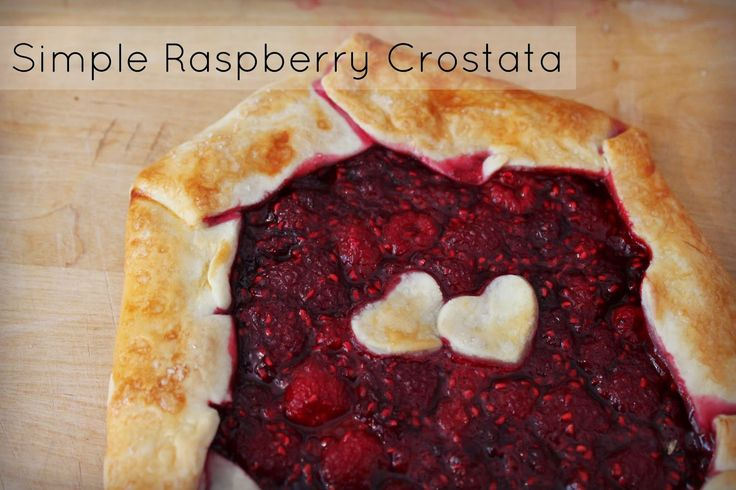New Wave Domesticity: A Simple Summer Raspberry Crostata