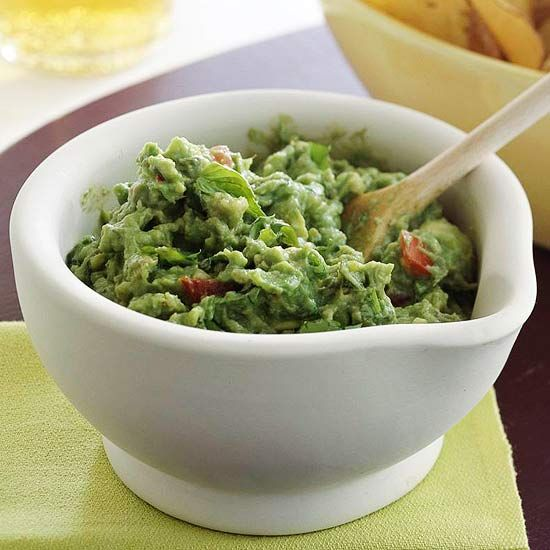 twist on guacamole, use basil in place of cilantro! Basil Guacamole ...