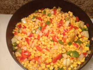 Cream Corn and Red Peppers | Recipes | Pinterest