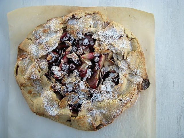gluten free raspberry, pear and almond crostata from ...