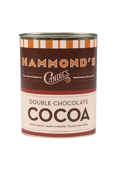 Hammond's Double Chocolate Hot Cocoa | comida | Pinterest