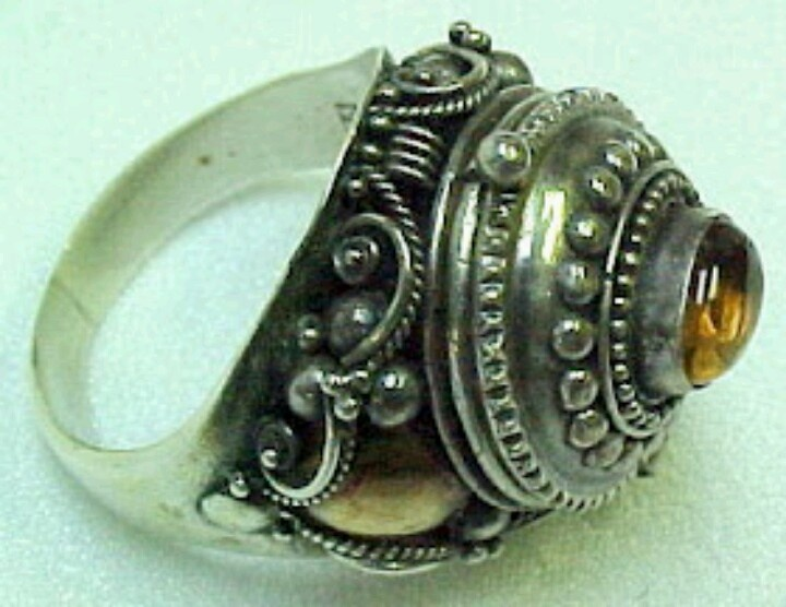 antique poison ring ring that bell