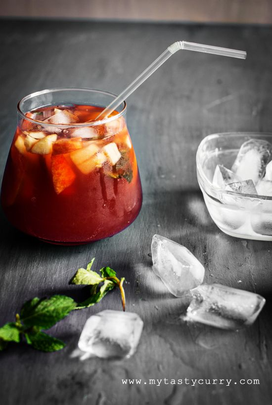 Non Alcoholic Sangria. Perfect for Summer and for those who don't ...