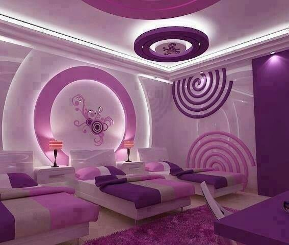 Pink purple room girls room pinterest - Pink and purple bedrooms for girls ...