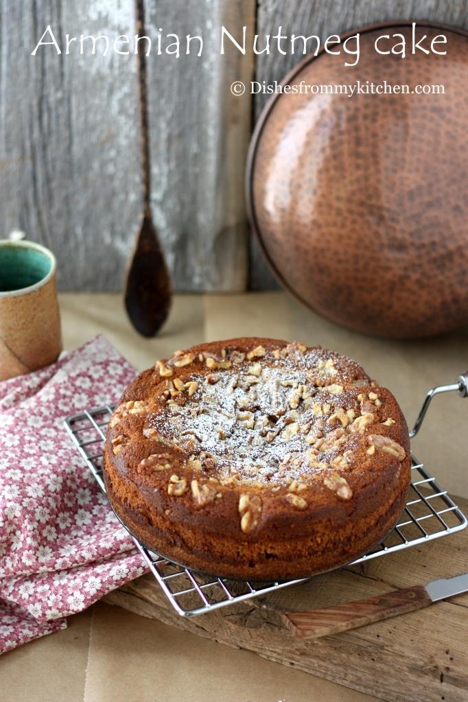 Armenian Nutmeg Cake | Recipes | Cakes | Pinterest