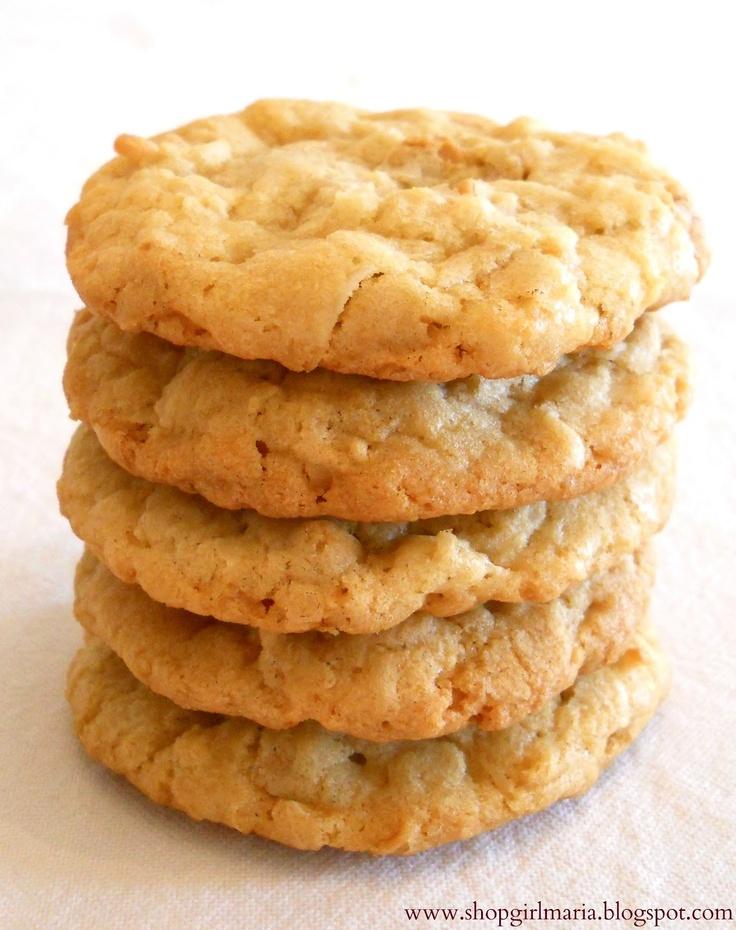Shopgirl: Butterscotch Coconut Cookies ... I substituted butterscotch ...