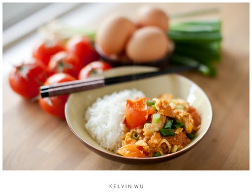 Stir fry Tomato & Eggs | Chinese | Pinterest