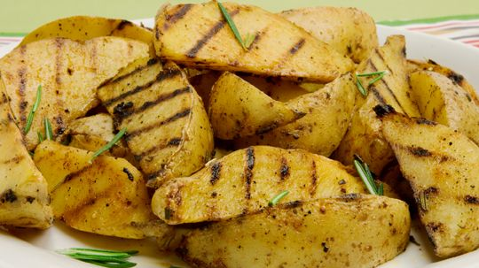 Grilled Potato Wedges - Recipes - Best Recipes Ever - These potatoes ...
