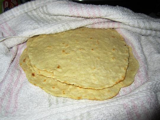 Gluten-Free Flour Tortillas. Photo by Chef #726534