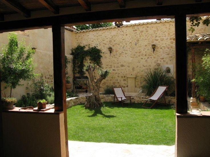 Patio trasero jardinas y patios pinterest for Disenos de patios traseros