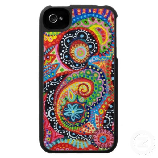 Funky Tribal iPhone 4 Case : Trippy Iphone 4 Cases : Pinterest