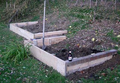 Tispaquins Revenge A Terraced Hillside Vegetable Garden