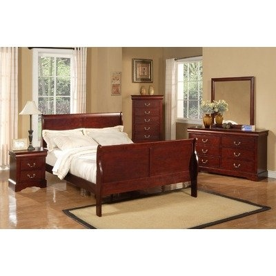 Post Louis Philippe Ii Louis Phillippe Queen Sleigh Bedroom Set