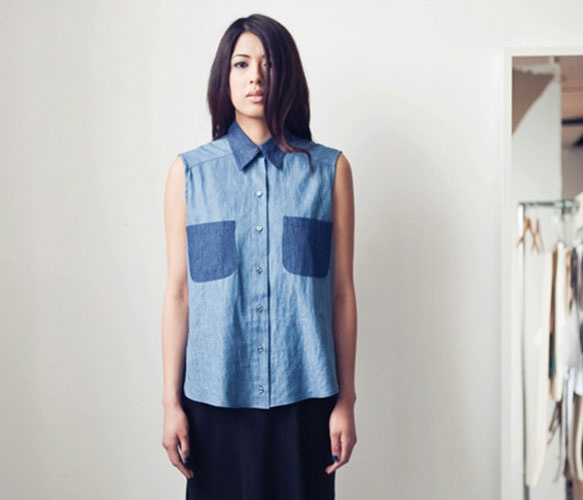 Denim Block Shirt