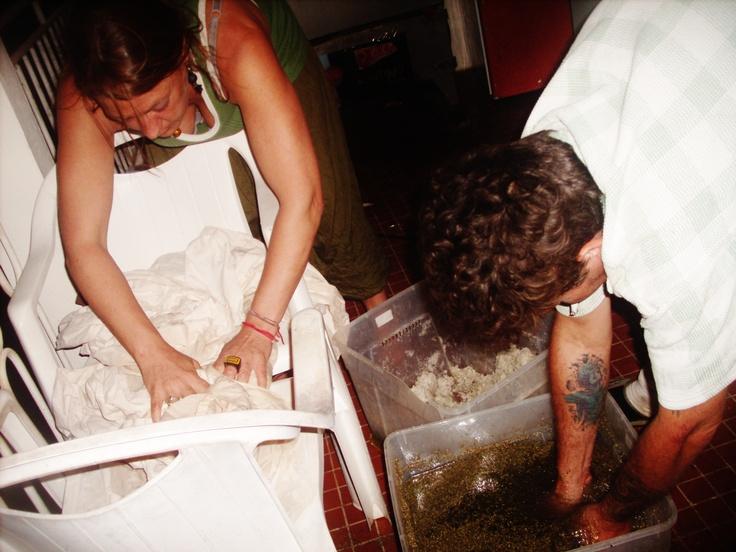 1 s cher les pav s de marlin pr alablement marin s aux - Vinaigre et gros sel ...