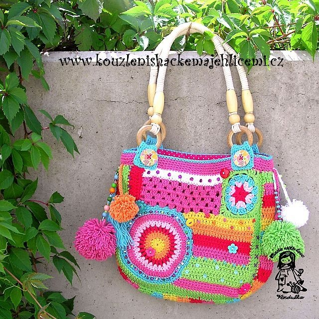 Handmade crochet bags and purses crochet, embroidery, handwork Pi ...