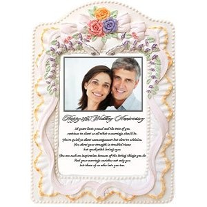 Wedding Anniversary Gift For Parents Or Any 25th Anniversary Couple