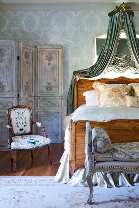 French Country Blue Bedroom For The Home Pinterest