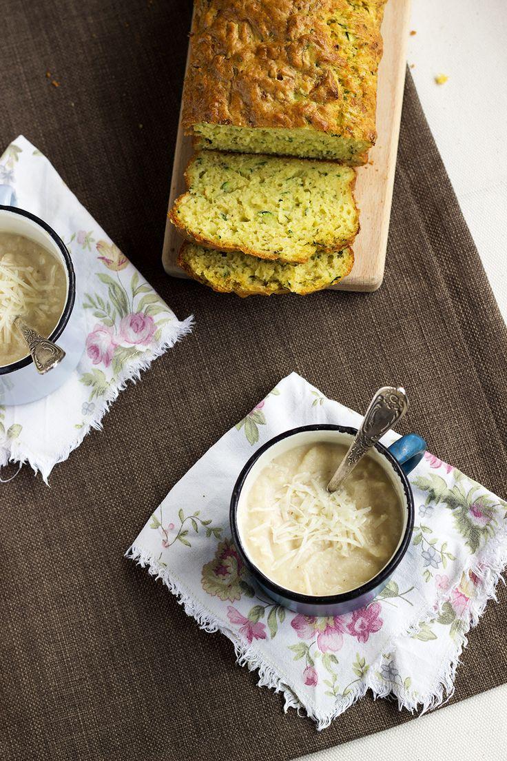 roasted cauliflower & cheddar soup | Recettes salées | Pinterest
