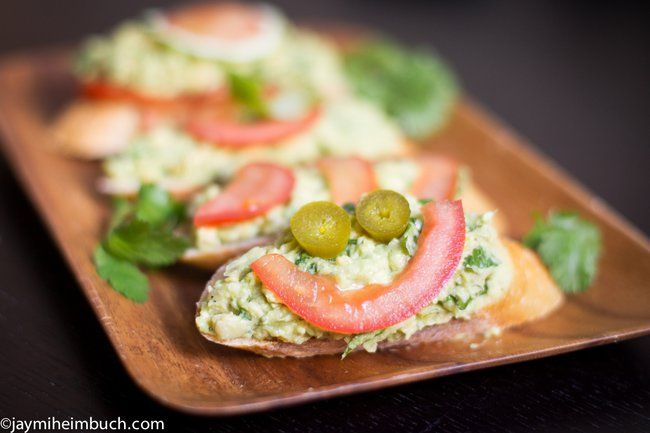 Avocado and chickpea salad sandwiches [Vegan] : TreeHugger