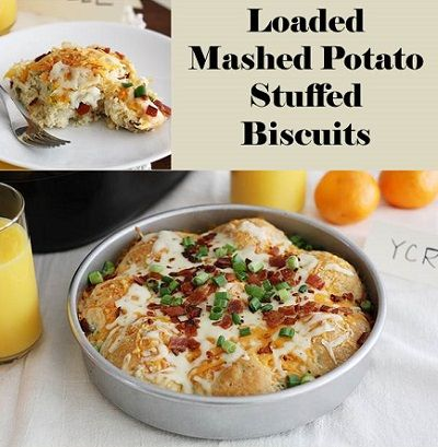 Leftover Mashed Potato Biscuits Recipe — Dishmaps