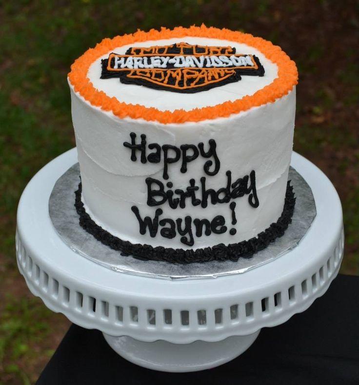 Harley Davidson Birthday Cake  Cake ideas  Pinterest