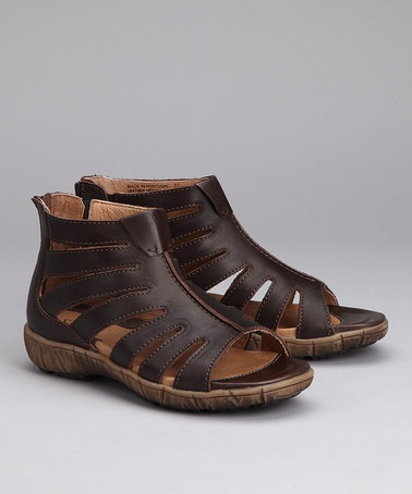 55f4b4b88cae Brown Dagny Gladiator Sandal - Women by Sanita Clogs on  zulily today