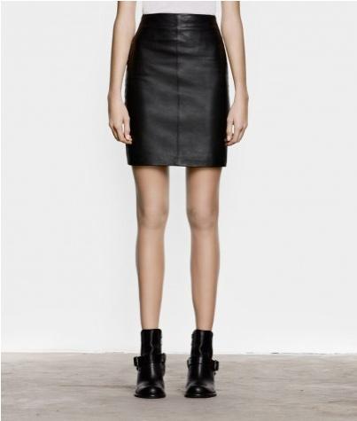 all saints leather skirt apparel