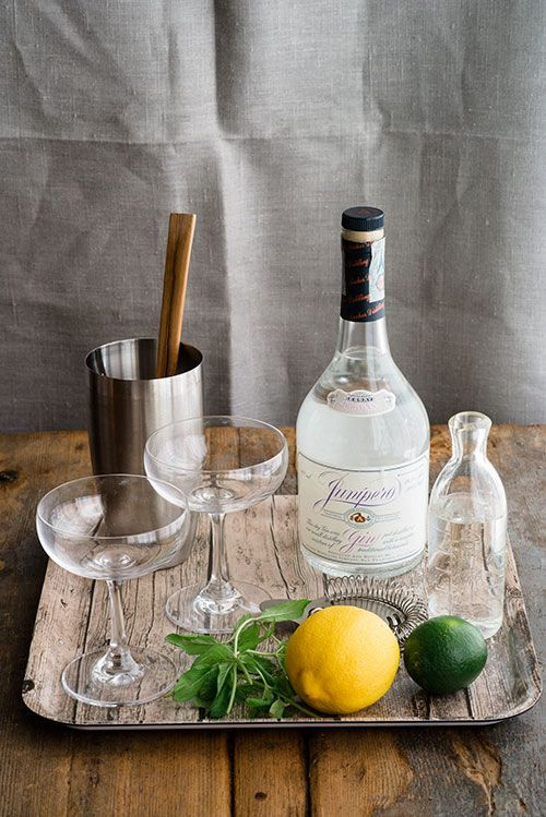 southside cocktail from Design Sponge | Bebidas | Pinterest