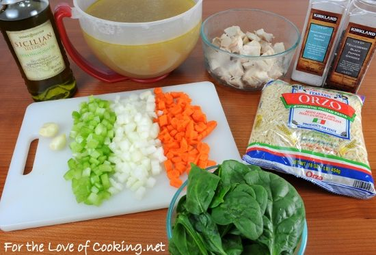 Turkey, orzo, carrot, spinach soup | Chowder & Soup recipes | Pintere ...