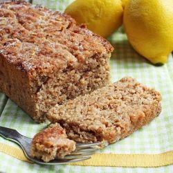 ... Lemon Chia Seed cake that is both vegan and gluten free. Chia-licious