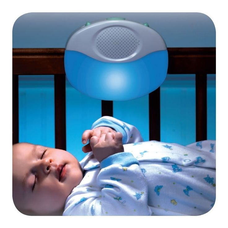 leather bag Munchkin Voice Activated Crib Light