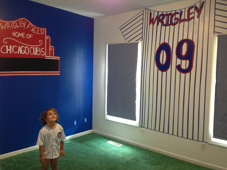 wrigley 39 s chicago cubs room
