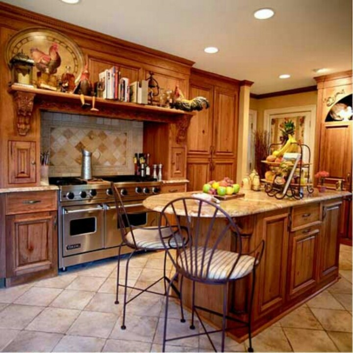 Lovely Rooster Shelf Kitchen Ideas Pinterest ~ 103446_Kitchen Decorating Ideas  With Roosters