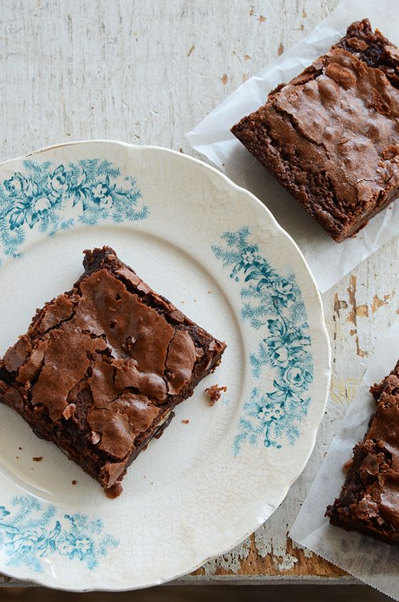 Chewy Brownies | cakes/pies | Pinterest