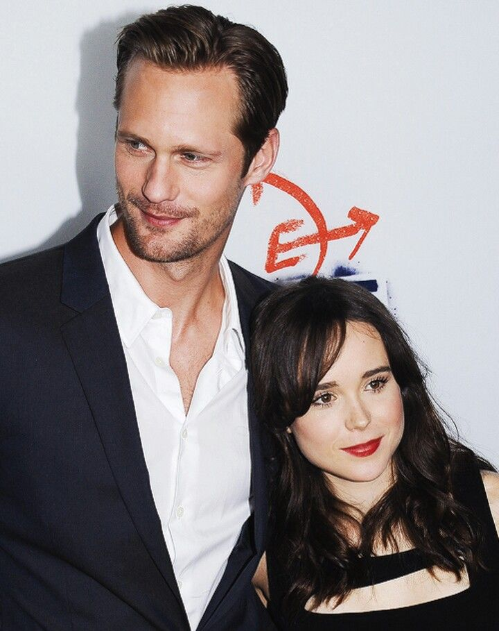 Alexander Skarsgard and Ellen Page | Deadly Deception II ...