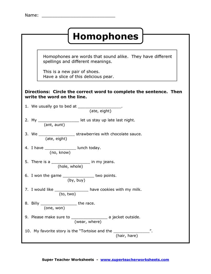 Free Worksheets homophones worksheet 2nd grade : Pin by Ashley Scheele on English ideas : Pinterest