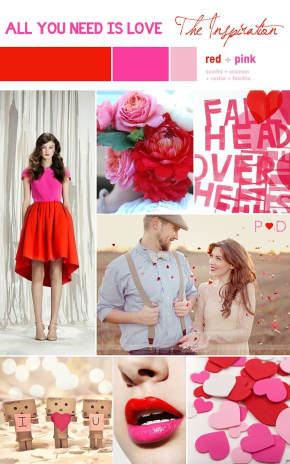 Bridal Inspiration Board #35 ~ All You Need Is Love/Valentines {1 of 3}