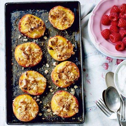 Peach & Raspberry Crisp   Pastries   Pinterest