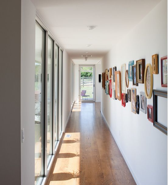 Como decorar o corredor