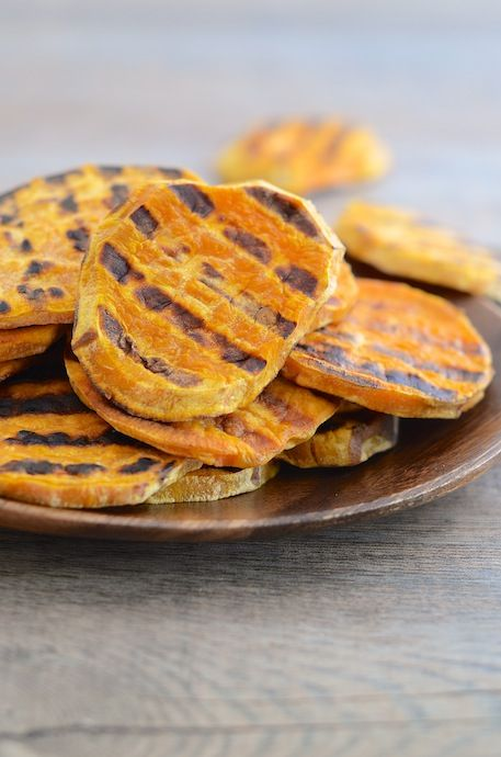 Grilled Sweet Potatoes | amanda's finds | Pinterest
